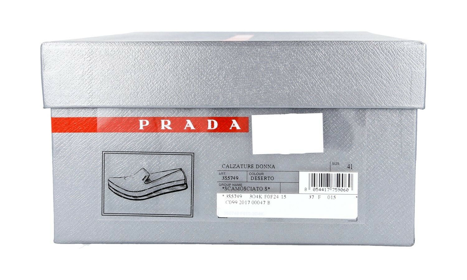LUXUS PRADA SLIPPER SCHUHE 3S5749 NEW DESERTO NEU NEW 3S5749 40,5 41 UK 7.5 b74d8a