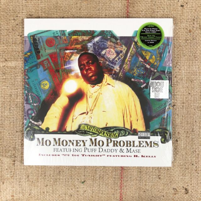 Notorious BIG Mo Money Mo Problems Record Store Day Green Vinyl Special Edition