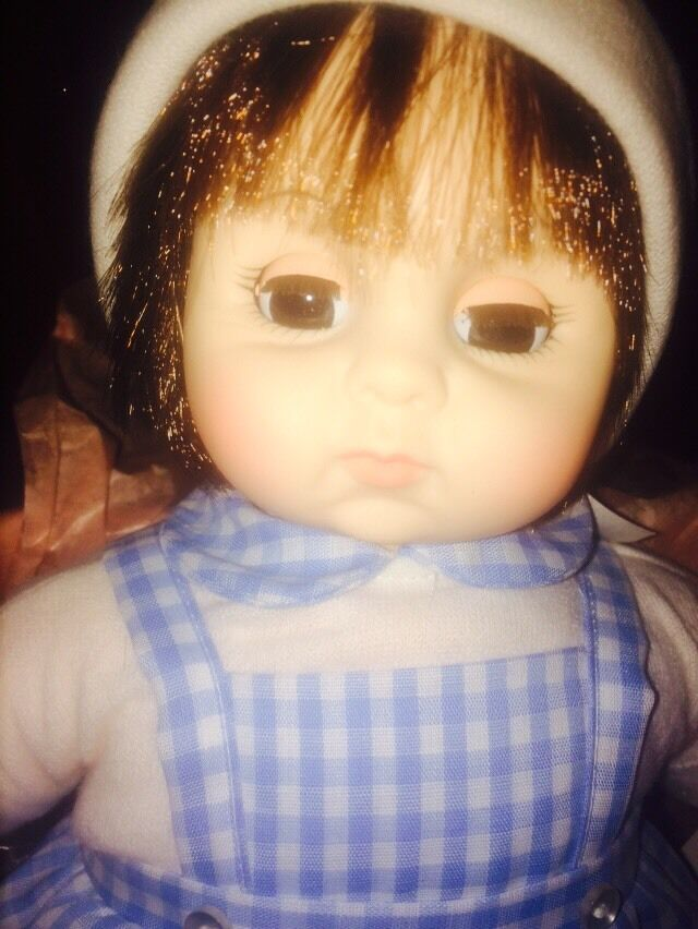 Vintage Madame Alexander Baby Bredher Doll 1977 New In Box