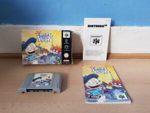 Rugrats en Paris la película N64 Completo Raro
