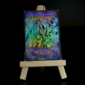 Yugioh-Orica-Toon-Blue-Eyes-Ultimate-Dragon-HOLO-FULL-ART-Custom-credule