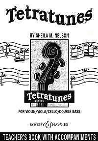 sheet music; Nelson Sheila Mary Tetratunes; teacher/'s book Saddle stitching