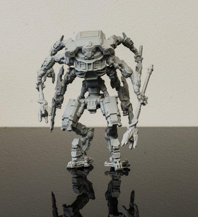 BORDE  Dawnfall Resina Destiny Titan Ahr-Zack jefe AI expansión sin montar