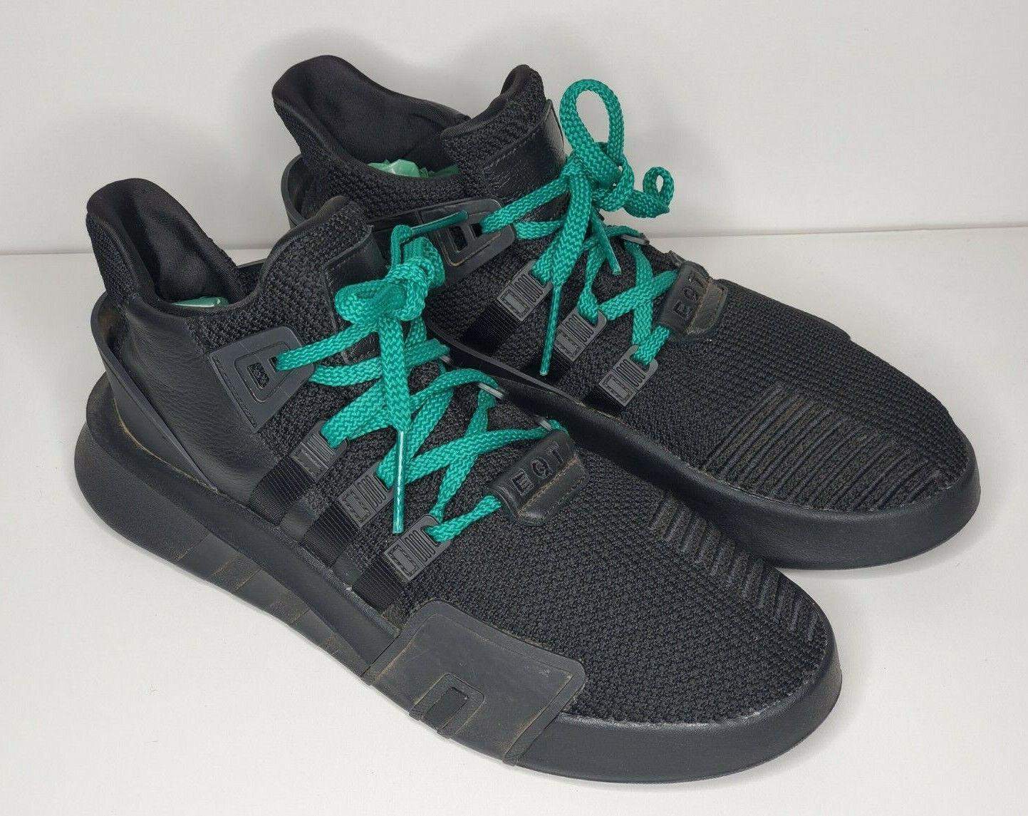 Size 11.5 - adidas EQT Basketball ADV Black Red