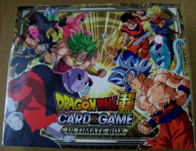 2018 Dragon Ball Super Bandai TCG Ultimate Box Set NEW SEALED