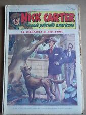 Nick Carter Il Grande poliziotto americano Anni 40 n°41 ed. NERBINI  [G369]