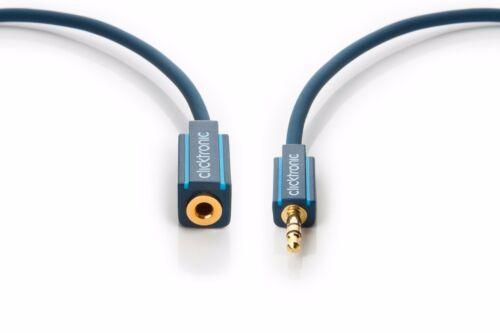 1,5m Clicktronic Casual MP3 Klinke 3,5mm Verlängerung Kopfhörerverlängerung 1,5m