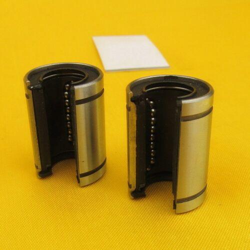 1Pcs LM20UU-OP Precision OPEN Linear Motion Bushing Ball Bearing 20*32*42mm
