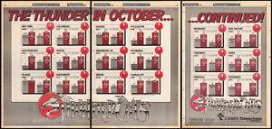THUNDERCATS-is-1-Original-1985-3pg-Trade-print-AD-TV-series-promo-poster