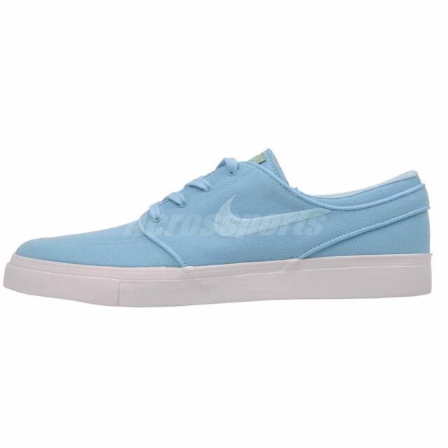 Nike SB Zoom Canvas Stefan Janoski Skate Board Shoe Blue 855628 447 Women's  5
