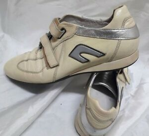 Scarpe donna Sneakers Frau Vernice 40 Chiusura a Strappo Woman Shoes  MADE ITALY