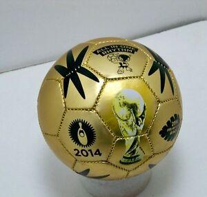 FIFA-2014-Brazil-world-cup-gold-MINI-soccer-ball-size-2-sz-international-futbol