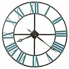 "625-574 -THE ST. CLAIR  A 36""  625574 WROUGHT IRON  HOWARD MILLER WALL CLOCK"
