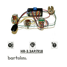 Bartolini HR-3.3AP Pre-Wired 2 Band EQ Active/Passive Preamp