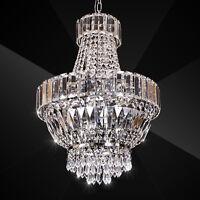 H50cm Antik-Stil Kristall Hängeleuchte Kronleuchter Pendelleuchte Deckenleuchte