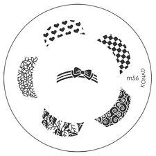 "KONAD Stamping Schablone ""M56"" Nail Art!"