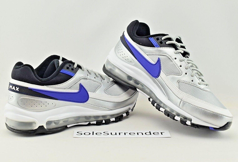 Nike Air Max 97 BW -SIZE 6- AO2406-002 BW 97 OG Metallic Silver Purple purple QS