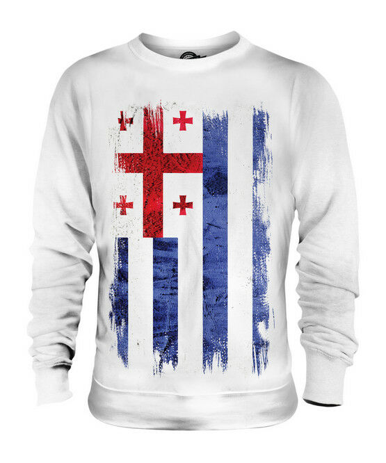 AJARIA GRUNGE FLAG UNISEX SWEATER TOP FOOTBALL GIFT SHIRT CLOTHING JERSEY