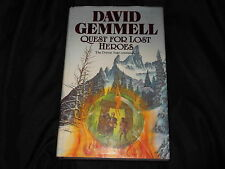 Quest for Lost Heroes by David Gemmell (Hardback, 1990 1st edition)