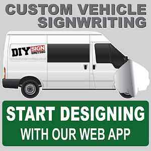 Custom writing sign in
