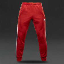 NEW RETRO RED ADIDAS ORIGINALS SUPERSTAR BOTTOMS JOGGERS TRACK PANT MEDIUM MEN