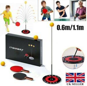 Table Tennis Trainer Equipment Fixed Rebound Robot Rebound Tennis Trainer  Xmas