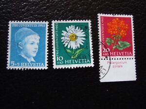 Switzerland-Stamp-Yvert-and-Tellier-N-721-A-723-Obl-A2-Stamp-Switzerland-A
