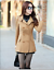 New-women-039-s-Korean-Slim-double-breasted-wool-coat-and-long-sections-coats-jacket thumbnail 9