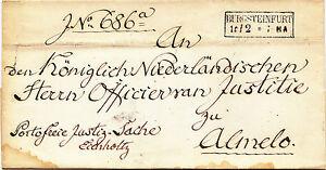 Transit-Briefhuelle-von-1856-mit-RA-2-034-BURGSTEINFURT-034-Franco-Justizsache-034-ALMELO-034