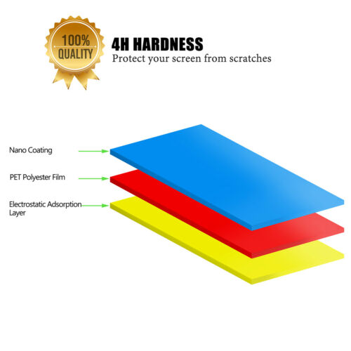 """Clear HD Screen Protector Guard Film Cover for Apple MacBook Pro Air 11/"""" 13/"""" 15/"""""""