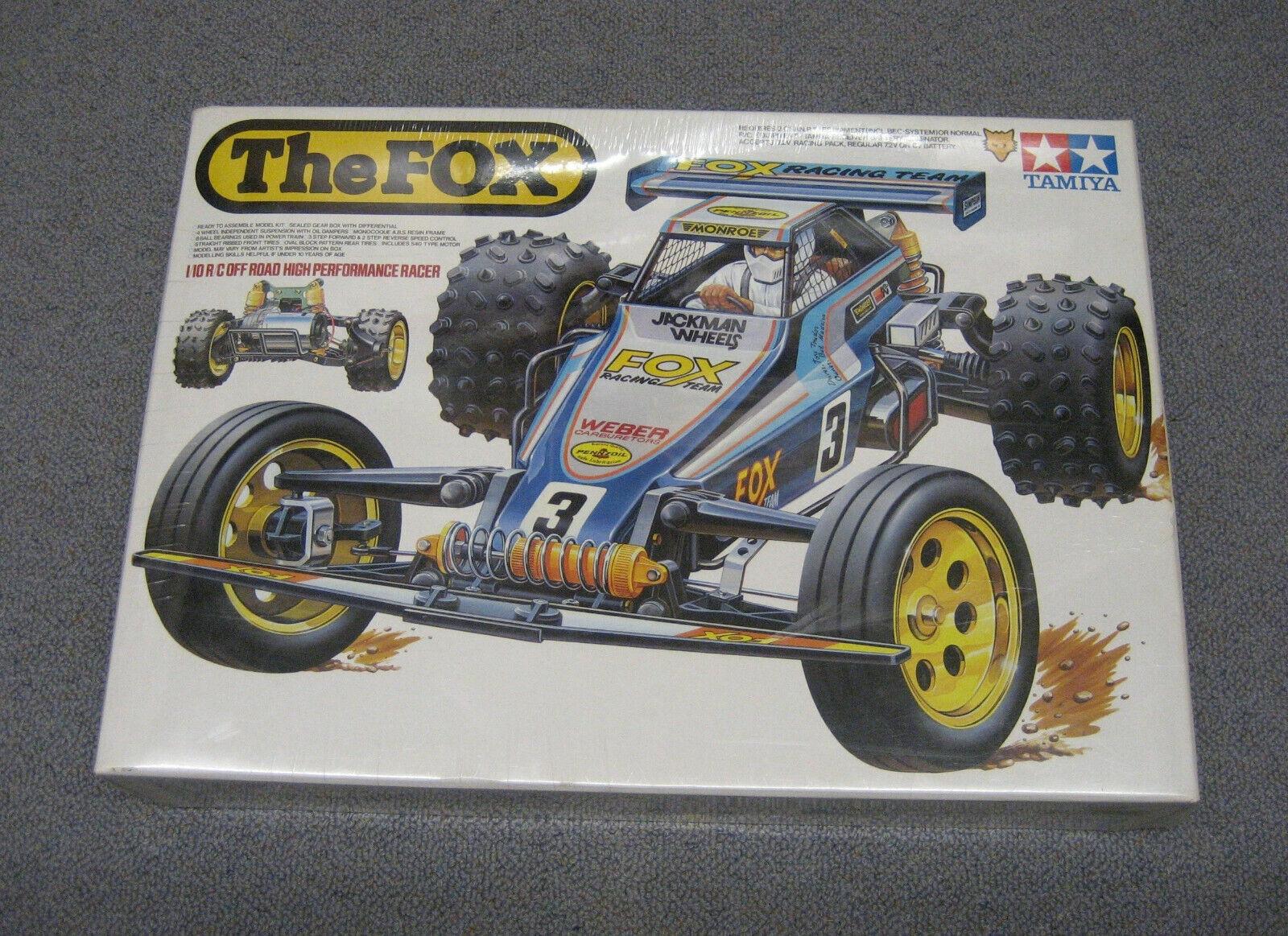 RC Tamiya kit the Fox blisterojo 58051 New NIB 1985