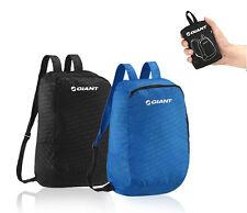 GIANT EZ Backpack Portable bicycle Outdoor Folding bag bike Riding Hiking -BLACK