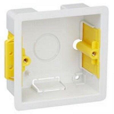 Appleby SB619 Dry Lining Box Single Gang 35mm (10 No.)
