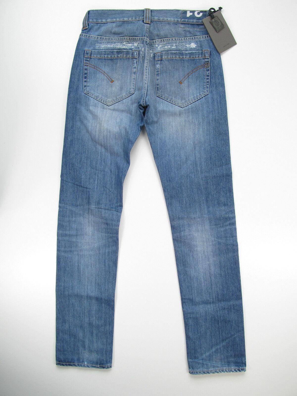 Dondup Hose Denim Jeans Hose UP223 DF023U 800 800 800 Emil Pantalone HellBlau Neu 9e9aa9