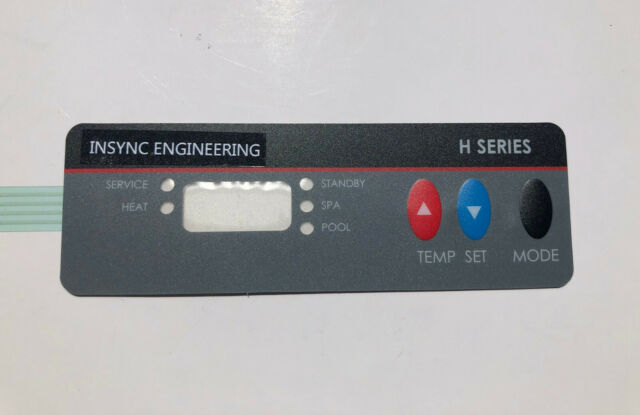 VERY RARE by INSYNC NEW Replacement for Hayward H Series Pool Heater Keypad