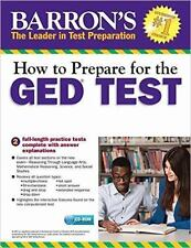 How to Prepare for the GED Test with CD-ROM, 2nd Edition by Christopher...