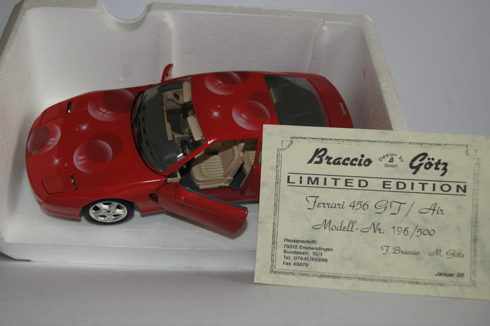 grande sconto modellolo di auto 1 18 FERRARI 456 GT GT GT BRACCIO & Götz  in OVP   economico e di alta qualità