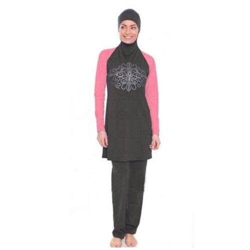 2019 New Women Muslim Swimwear Swimsuit Full Cover Islamic Bathing Suits Burkini