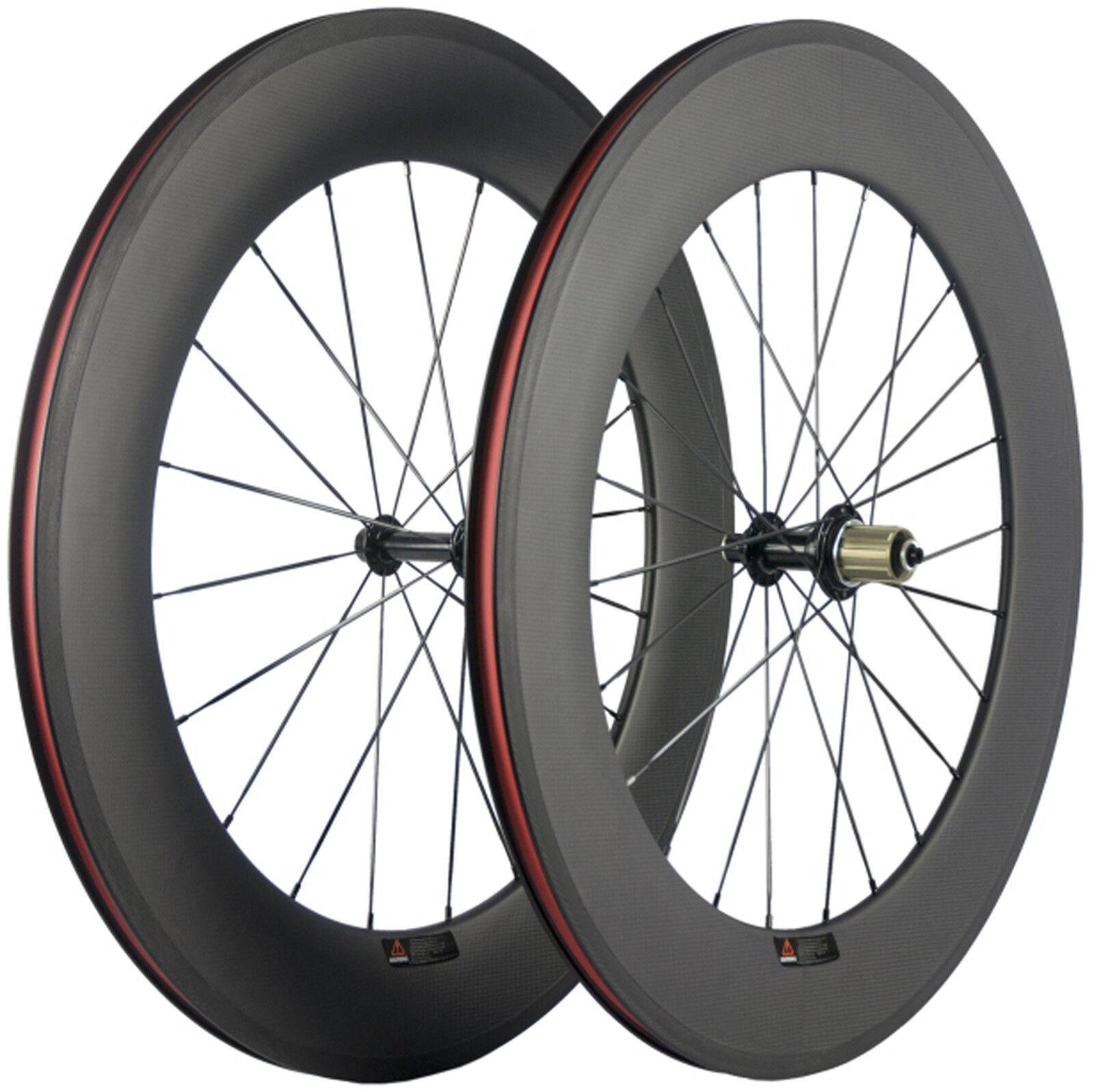 88mm Drahtreifen Fahrradreifen Rennrad Fahrrad Laufradsatz 700C Shimano8  9 10 11  guaranteed