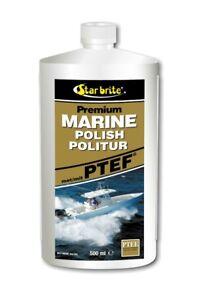 Star brite Premium Marine Politur mit PTEF® 85716DGP 500ml Boot Bootspolitur