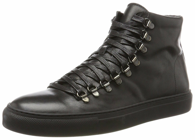 5e10bb2a90a9 ... Mens Shoes Kenneth Cole Design Design Design 10775 Hi Top Sneakers  KMF7LE071 Black  New  ...