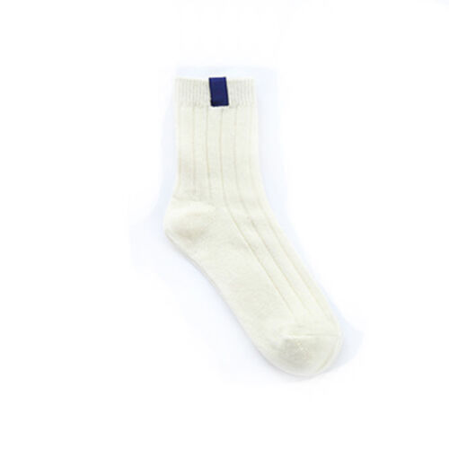 Women/'s Socks Thick Warm Solid Striped Autumn Winter Cotton Hosiery Stocking