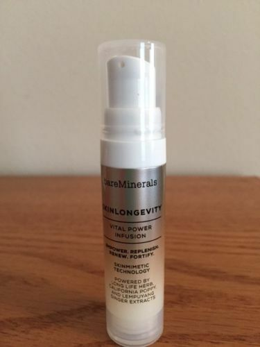 bare minerals skinlongevity vital power infusion serum 25 oz ebay