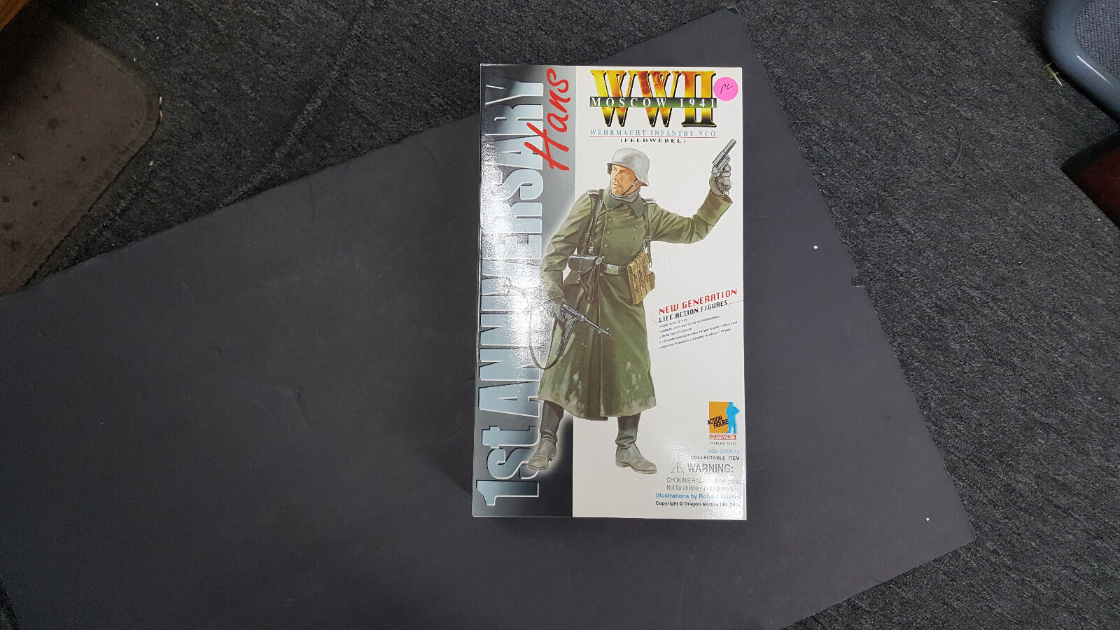 Dragon 1 6 scale WWII Moscow 1941 Hans collection figure