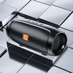 Portable Stereo Bass Bluetooth Speaker Wireless Waterproof USB/TF/FM Radio LOUD