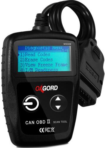 OBDII Scanner Code Reader OxGord MS300 OBD2 Scan Tool Diagnostic SUV Car Truck