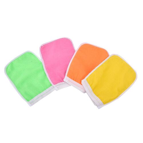 Shower Exfoliating Back Scrub Massage Sponge Wash Skin Spa Foam Bath Glove Jl