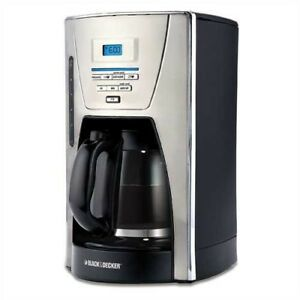 Black and Decker Coffee Maker 12 Cup Program Stainless Steel CM1300SC