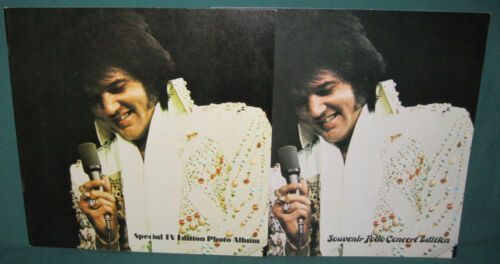 Elvis Presley Special Souvenir Photo Folio Concert TV Edition Booklets (2)