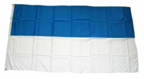 weiß 90 x 150 cm Fahne Flagge Schützenfest blau